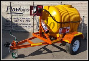 NEW 1000Lt & 600Lt Diesel Bowser 12V Trailers with Papers from R19 990