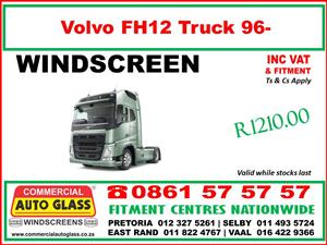 Truck Windscreens - Side Glass for Volvo - Nissan - Mercedes Benz - Toyota