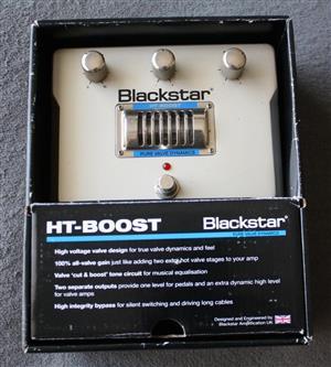 Blackstar HT Boost Guitar Pedal (Valve) in Box