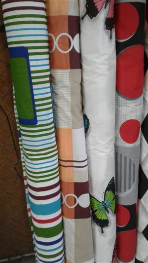 JUST ARRIVED A NEW RANGE OF PRINTED SHEETING