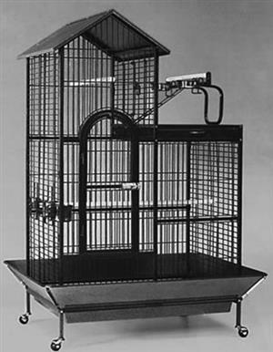 CC019 Parrot Cage House Style 101x61x165cm