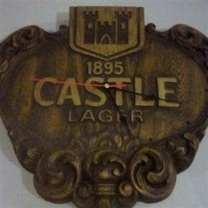 Castle lager wall clock