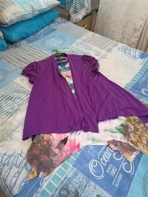 Purple summer top for sale