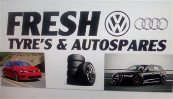 Fresh Tyres and VW and Audi Spares