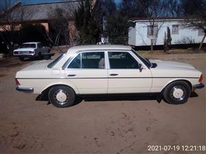 1984 Mercedes Benz 230E for sale by owner