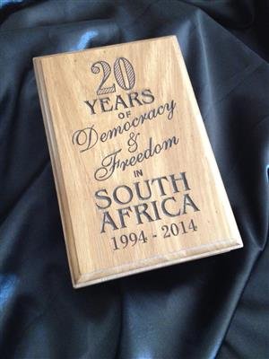 Wood Coin Boxes Bushveld Box