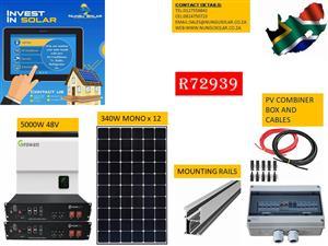 SOLAR OFF GRID SYSTEM FOR  PLOT/FARM/SCHOOLS