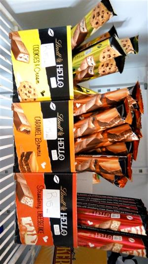 Assorted Lindt chocolates 39g each