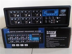 Hybrid M6180DBT Powered Mixer