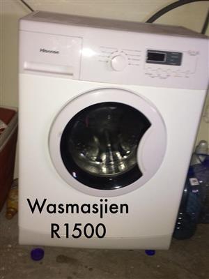 Wit Hisense front loader wasmasjien