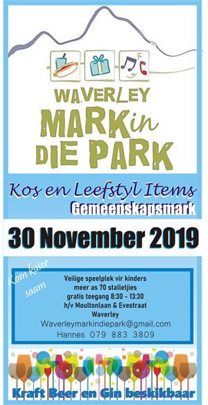 Waverley Mark in Die Park