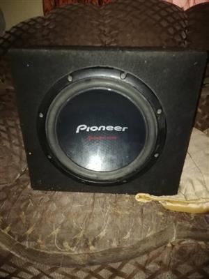 Pioneer subwoofer for sale