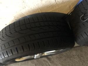 """19"""" Amarok mags with tyres"""