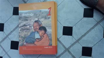 Biology grades 10-12 book