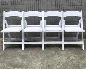 Heavy duty commercial Resin folding Wimbledon chairs