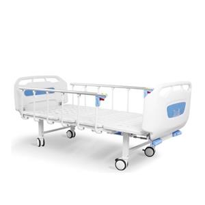 2 Crank Manual Hospital Bed - Backrest and Legrest Adjustable with lockable Castors. ON SALE