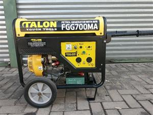 "Generator 6.5 KVA Brand New Not Used with 12 Month warranty from supplier. This is a petrol Unit. Starts with a key or ""Rope pull"" I`m in New Redruth, Alberton. Limited Offer. Sorry this price is Not Negotiable..., its a Nett Price."