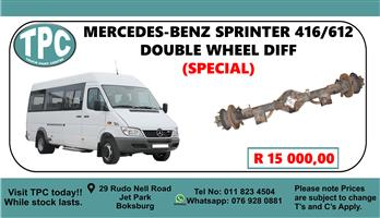 Mercedes-Benz Sprinter 416/612 Double Wheel Diff - For Sale at TPC