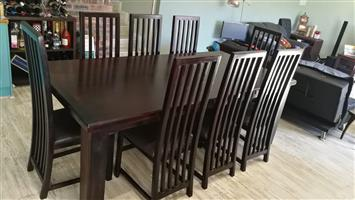 8 seater dining set