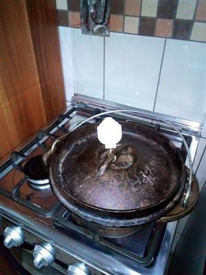 Poiki pot knop gemaak uit vesconite