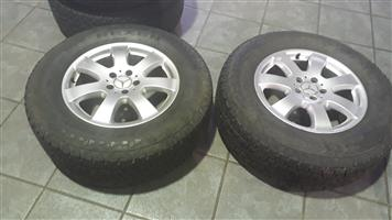 Mag Rims And Tyres For Mercedes-Benz ML  W164