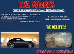 CHRYSLER CROSSFIRE 3.2 – 4.2 USED GEARBOXES FOR SALE