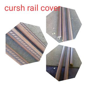 decorative kirsch rail covers