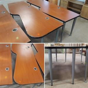 Call Center / 2 Seater Office Desk - 6 available
