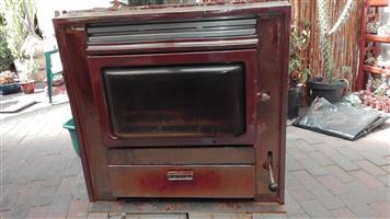 Rayburn Rhapsody Stove/Heater. Model RR/1/D1