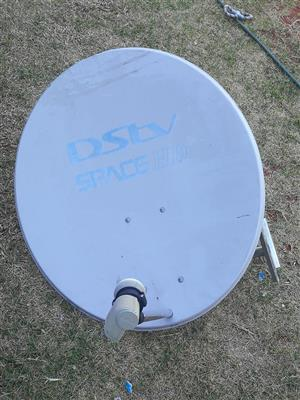 DSTV skottel met single LNB en Bracket