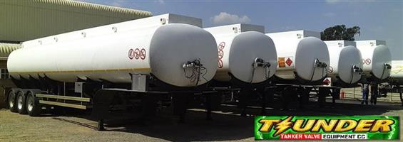 Tank Clinic Tri Axle Semi Trailers
