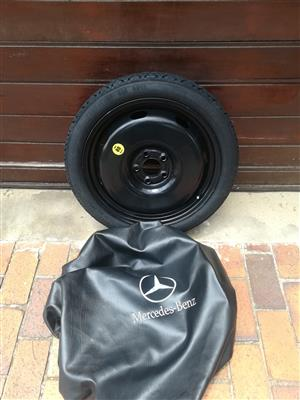 18 inch Emergency Spare Wheel fits Mercedes C250 AMG From 2014-2019 R2950
