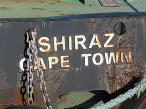 Tug Boat - Shiraz - ON AUCTION