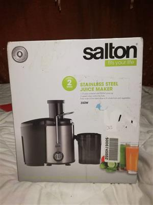 Salton juice maker
