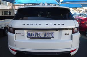 2017 Land Rover Range Rover Evoque HSE Dynamic Si4 213kW