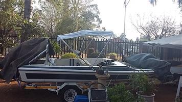 """17"""" ski boat DT140 Suzuki with T&T"""