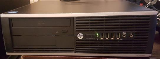 "HP Compaq 6300 Pro + keyboard; + mouse; + 19""LG Monitor Wide W1943SI. Windows 7 PRO"