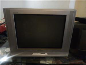Colour T.V.54cm, No AV, No Remote