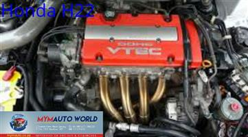 Imported used engines HONDA PRELUDE 2.2L, H22, Complete second hand used engines