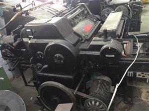 Heidelberg Cylinder machine