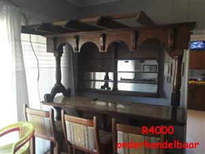 Large wooden bar for sale