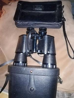 Binoculars with bag for sale