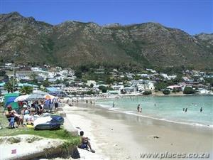 Holiday in Gordons Bay at the Beach