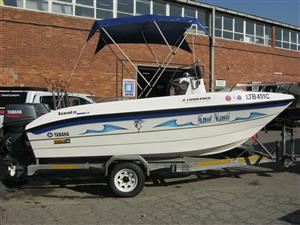 Seacat 16 C/C with 2 x Yamaha 50HP Motors
