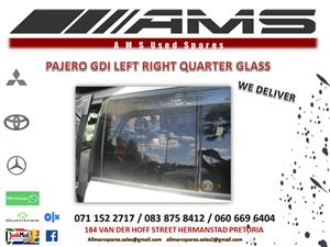 PAJERO QUARTER GLASS