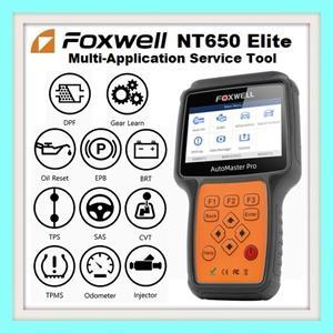 Vehicle diagnostic tool: Foxwell NT650Elite Multi-Application Service Tool Latest 2019 version