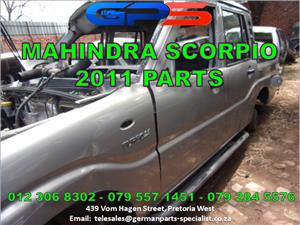 Mahindra Scorpio 2.5T 2011 Replacement Parts for Sale