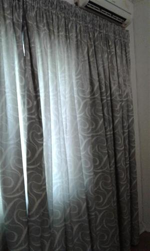 Grey curtains for sale