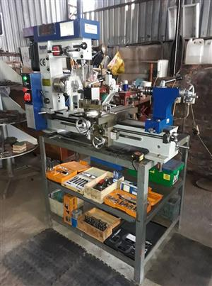 Lathe, Milling & Drilling Machine