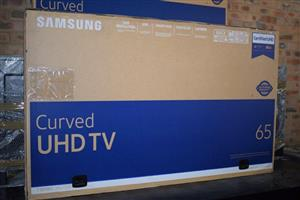 Curved UHD tv for sale